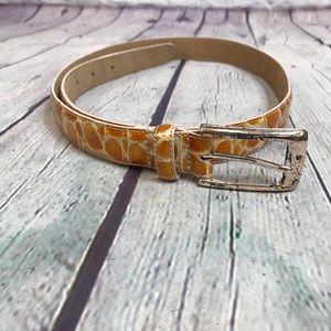WCM Italian Calfskin Belts Size 40